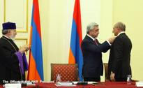 Artsakh Republic President met in Yerevan with heads of a number of structures functioning in the Diaspora
