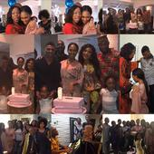 Photos from ex-beauty queen, Stephanie Kalu Uche's birthday party