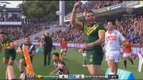 As it happened: Clinical Kangaroos pull apart Kiwis to dominate Perth Test