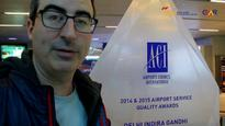 British Comedian John Oliver Just Visited The Delhi Airport And Joked About Soupy Air...