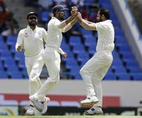 Live: Ashwin snares Samuels, India push for win