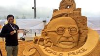 Odisha govt swings into action to clean Puri Beach; sand artist Sudarsan Pattnaik ends fast