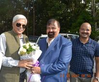 Chief Secretary of Manipur Government visit to Loktak Power Station