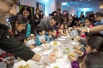 Food Festival Introduces Children to Healthy Eating, Indian Cuisine