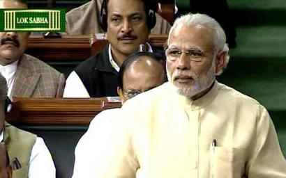 Highlights: When Modi used Indira, Rajiv to give it back to Congress
