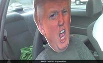 Taking Donald Trump Cut-Out For A Ride Costs Driver $136