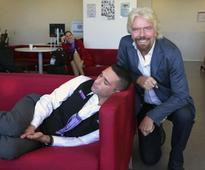 Viral: Virgin Groups Richard Branson spots employee sleeping on the job. Does this next
