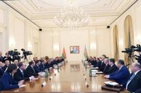 28/11/2016 Presidents of Azerbaijan, Belarus meet in expanded format 18:38 28 November