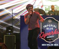 Farhan Live conquered Indore at Imperial Blue Superhit Nights Season 4