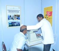 Pernod Ricard India Charitable Foundation organized FREE Eye testing and General Health check-up Campfor Truck Drivers to improve Road Safety