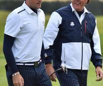 Faldo: US have Ryder Cup edge