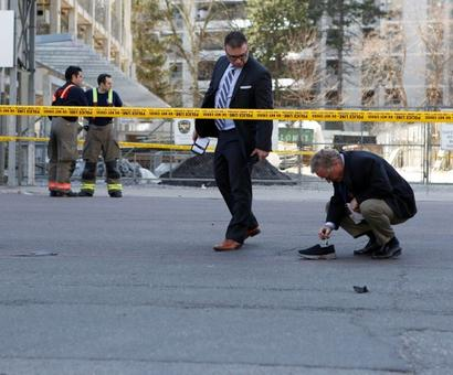 Van plows into Toronto crowd in 'deliberate' act, killing 10