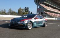 Tesla Electric GT racer revealed, based on P100D
