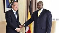 Museveni meets with UN boss over South Sudan, calls for cessation of hostilities