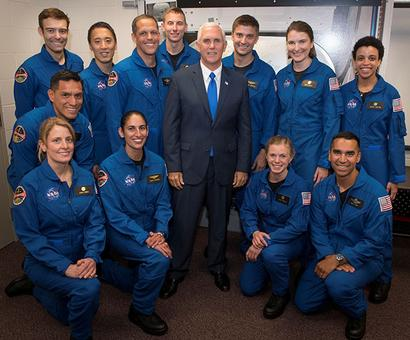 Desi among 12 NASA astronauts chosen from 18,300