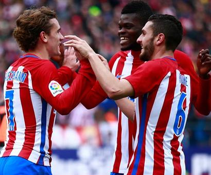 La Liga: Griezmann, Gameiro get Atletico back to winning ways