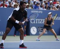 US Open Day 6 results: Paes-Hingis out of mixed doubles; Murray and Wawrinka progress in men's singles
