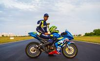 Sachin Choudhary Becomes First Indian Rider To Participate In Rookies Cup
