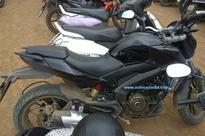 Bajaj Pulsar CS400 spied without camouflage for the first time
