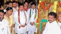 Gold-plated main entrance of Annavaram temple inaugurated