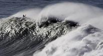 Giant Wave Slams Through California Restaurant
