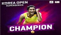 PM Modi hails P.V. Sindhu for lifting Korea Open title