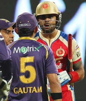 IPL: Gambhir-Kohli involved in ugly on-field spat