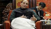 Rajnath Singh discusses Kashmir, Sukma with top security brass