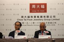 Chow Tai Fook sees 17% drop in total China sales.