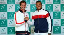 Murray, Tsonga to miss Britain's Davis Cup tie with France