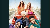 Star-studded selfie for Mubarakan poster is out! With double dose of Arjun Kapoor, Anil Kapoor, Ileana D'cruz and Athiya Shetty