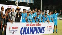 India crowned Tri Nation-series champion
