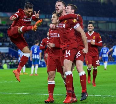 EPL: Liverpool rout Brighton, Chelsea see off Newcastle