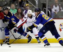 Capitals debut potential first line in preseason win over Blues