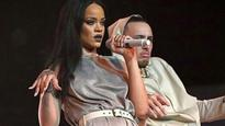 Hip hop dancer Lance Savali performing on Rihanna's Anti World Tour