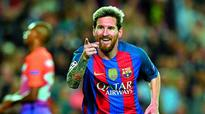 Barcelona leave City Messi