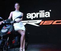 Piaggio launches Aprilia SR 150 in India priced at Rs 65,000