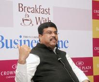 Natural gas a must for development: Pradhan