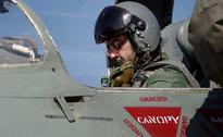 Air Force Chief BS Dhanoa Flies MIG-21 Fighter Jet