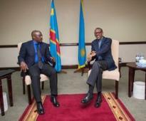 Kagame, Kabila discuss trade and security