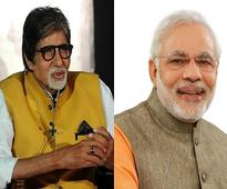 Amitabh Bachchan thanks Narendra Modi for acknowledging his contribution