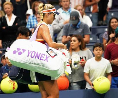 Upsets on Day 2 at US Open: Defending champ Kerber ousted by Osaka
