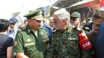 Senior Iranian commander, Russian defense minister meet in Moscow