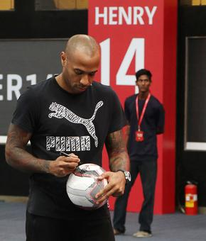 Thierry Henry on ISL, Wenger, Pep