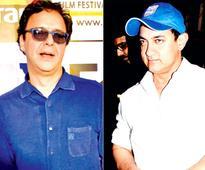 Aamir Khan and Vidhu Vinod Chopra to team up for a film?