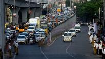TRS celebrations send traffic haywire