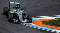 German Formula One GP qualifying: Nico Rosberg edges Lewis Hamilton