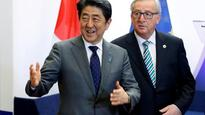 EU's Juncker says wants EU-Japan FTA to conclude by year-end