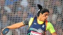 Discus thrower Seema Punia clinches Rio Olympics berth