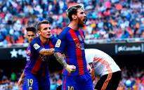 Lionel Messi scores dramatic late penalty as Barca come-from-behind to beat Valencia